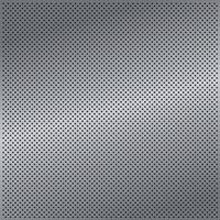 ferro traforato argento con riflessi bianchi vettore