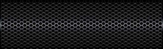 ferro perforato nero con riflessi bianchi vettore