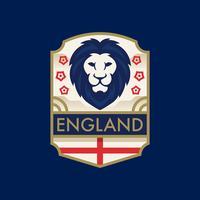 Distintivi di calcio della coppa del mondo dell'Inghilterra vettore