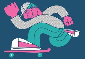 ragazzo di skateboard
