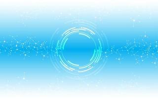 tecnologia astratta sfondo concetto innovazione vettore