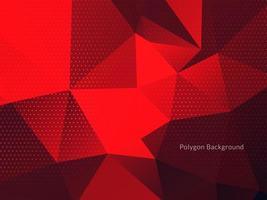 sfondo colorato astratto triangoli poligonali vettore