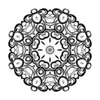 bellissimo sfondo artistico mandala design vettore