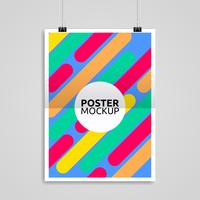 poster mockup vettoriale