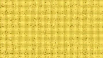 sfondo giallo tecnologia microchip, design digitale hi-tech e concetto di sicurezza, spazio libero per il testo vettore
