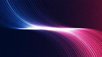 sfondo di tecnologia del suono elettronico vettore