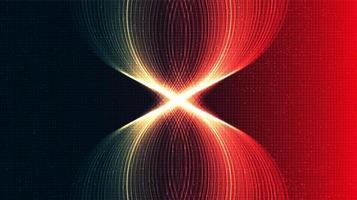 sfondo di tecnologia della luce di velocità vettore