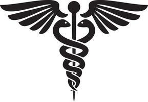 caduceo - simbolo medico vettore