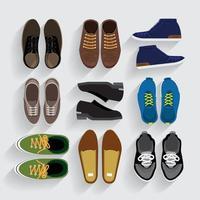 illustrazioni vettoriali scarpe