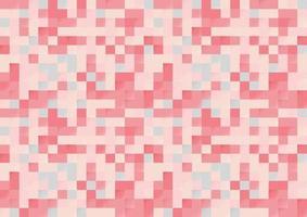 fondo senza cuciture del pixel di colore rosa astratto. modello di stile moderno. vettore
