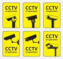 Grafica vettoriale della telecamera CCTV