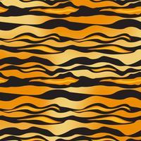 vettore di modello tigre