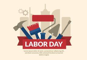 ClipArt Labor Day vettore