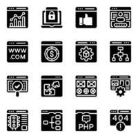 sito web e design vettore