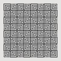 seamless texture pattern astratto per la stampa di elementi di design ripetere. vettore illusorio quadrato