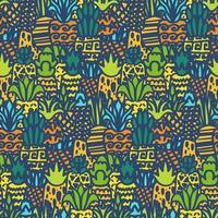 ananas intero vector seamless pattern