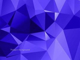 sfondo di cristallo geometrico triangolare colorato astratto vettore