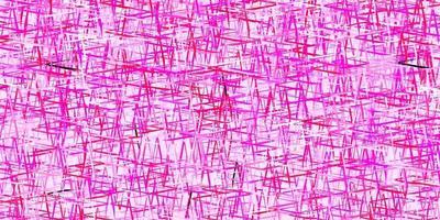 sfondo vettoriale rosa scuro con strisce strette.