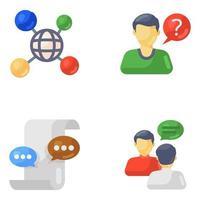 elementi della tecnologia di comunicazione vettore