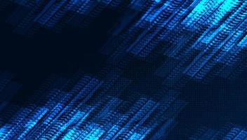 linea di velocità cyber digitale su sfondo tecnologia microchip, design concept hi-tech e internet, spazio libero per testo inserito, illustrazione vettoriale. vettore