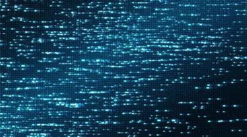 sfondo microchip tecnologia leggera, design concept hi-tech e internet, spazio libero per il testo in put, illustrazione vettoriale. vettore