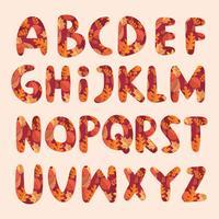 Alfabeto autunnale