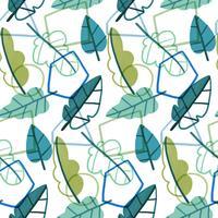 Motivo geometrico e botanico