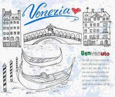 copia isolata di venezia v2 vettore