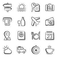viaggi e attrezzature vettore