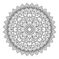Disegno decorativo mandala