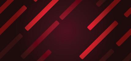 forme geometriche rosse astratte bellissimo sfondo o banner vettore