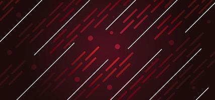 linee astratte rosso sangue bellissimo sfondo o banner vettore