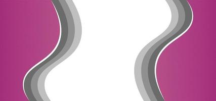 bellissimo sfondo o banner rosa geometrico moderno vettore