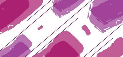 forme geometriche stile gelatina bellissimo sfondo o banner vettore