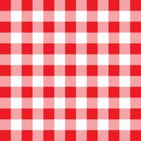 Motivo a quadretti rosso e bianco