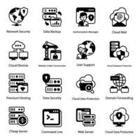 servizi web e archiviazione dati vettore