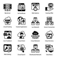 servizi di web hosting e archiviazione vettore