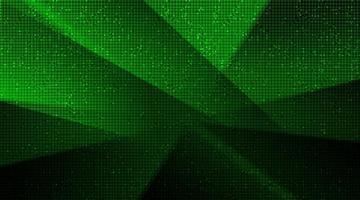 sfondo tecnologia verde scuro, design digitale hi-tech e concetto di sicurezza, spazio libero per il testo in put, illustrazione vettoriale. vettore