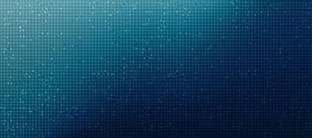 sfondo microchip tecnologia di sicurezza, design digitale hi-tech e concetto di sicurezza, spazio libero per testo in put, illustrazione vettoriale. vettore