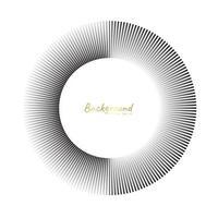 elementi di cerchio concentrico. elemento per il web design grafico, modello per la stampa, tessile, confezionamento, decorazione, illustrazione vettoriale