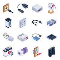 elettronica e gadget vettore