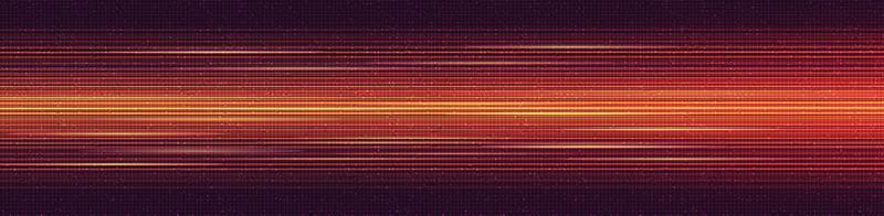 sfondo di tecnologia della linea di velocità della luce panoramica vettore
