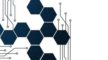 sfondo di tecnologia del circuito vettore