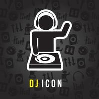 dj mixaggio del suono vettoriale