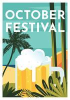 disegno vettoriale di ottobre