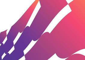 sfondo colorato forma astratta gradiente di tendenza. composizione di forme fluide. vettore