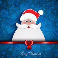 Sfondo di Natale santa