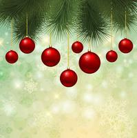 Sfondo albero di Natale