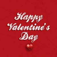 Grunge giorno di San Valentino sfondo vettore