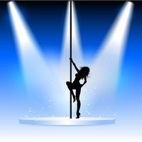Ballerina sexy pole